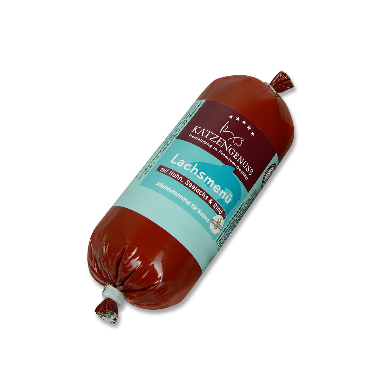 Unser Produkt Lachsmenü
